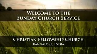 5th July 2020 - Sunday Church Service | God Fills Ordinary, Thirsty People - Zac Poonen