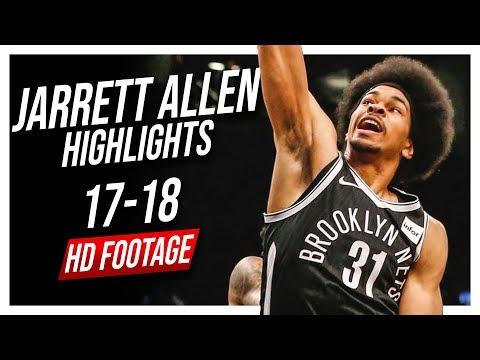 Nets C Jarrett Allen 2017-2018 Season Highlights ᴴᴰ