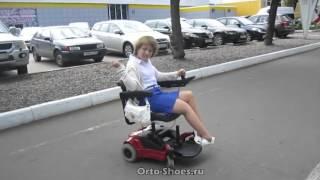 Инвалидная коляска с электроприводом(Купить инвалидную коляска с электроприводом можно в магазине Orto-Shoes.ru. Доставка по Москве и всей России., 2015-10-13T11:42:41.000Z)