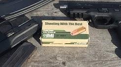 9x19mm, 115gr JHP, Di-Cut, IMI Ammunition, Velocity/10% Clear Gel Test