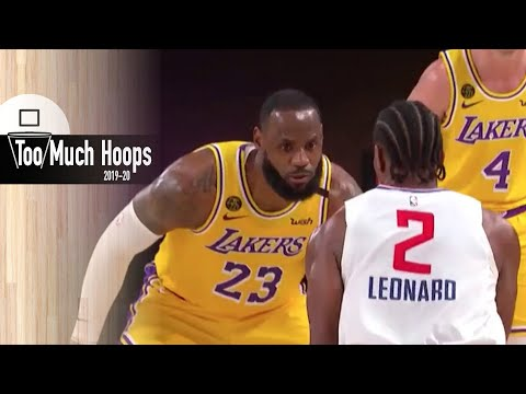 [TooMuchHoops] Breaking down the Lakers defense vs the Clippers featuring Lebron, AD, and Kyle Kuzma - July 30, 2020