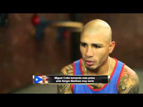 MIGUEL COTTO TRAINING FOR MARTINEZ