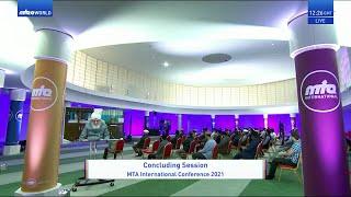 Concluding Address at MTA International Conference - 27 June 2021