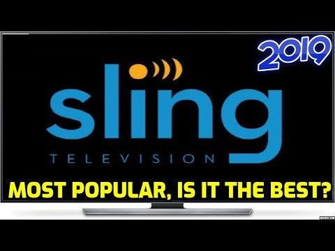 Sling TV 2019 Review - The Largest Streaming Service In America, Is It The Best?