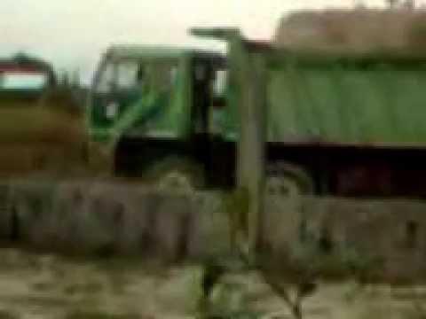 Sewage Truck DUMP RUN to Pond Area  Environmental-Violations under Philippine RA9003