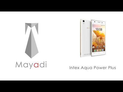 Intex Aqua Power Plus Hands on Review, Unboxing, Camera and