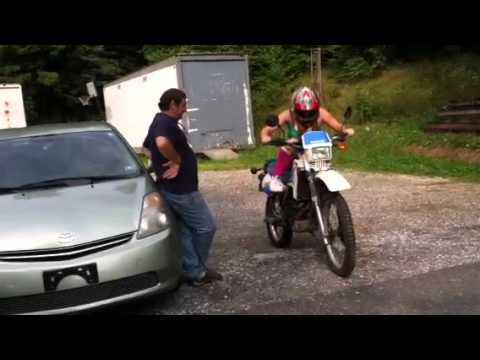 Tabetha first time motorcycle
