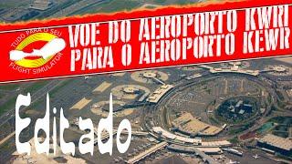 VOE DO #AEROPORTO #KWRI PARA O #KEWR - Editado