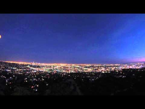 Los Angeles night view from Griffith Observatory
