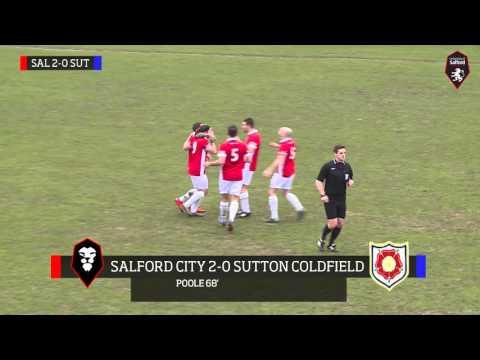James Poole's goal against Sutton Coldfield