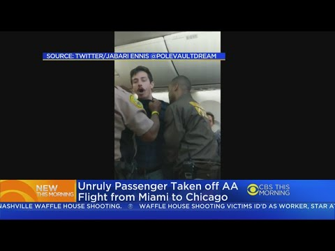 Unruly Passenger Repeatedly Tased, Removed From Miami Flight