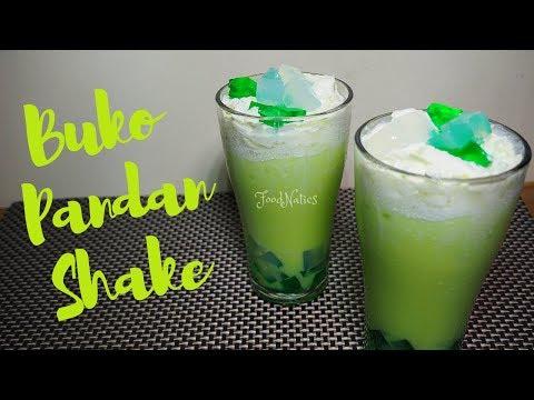 BUKO PANDAN SHAKE | THE BEST & EASY TO FOLLOW RECIPE