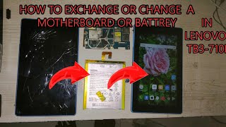 How To change display and touch OF Lenovo TB3-710I