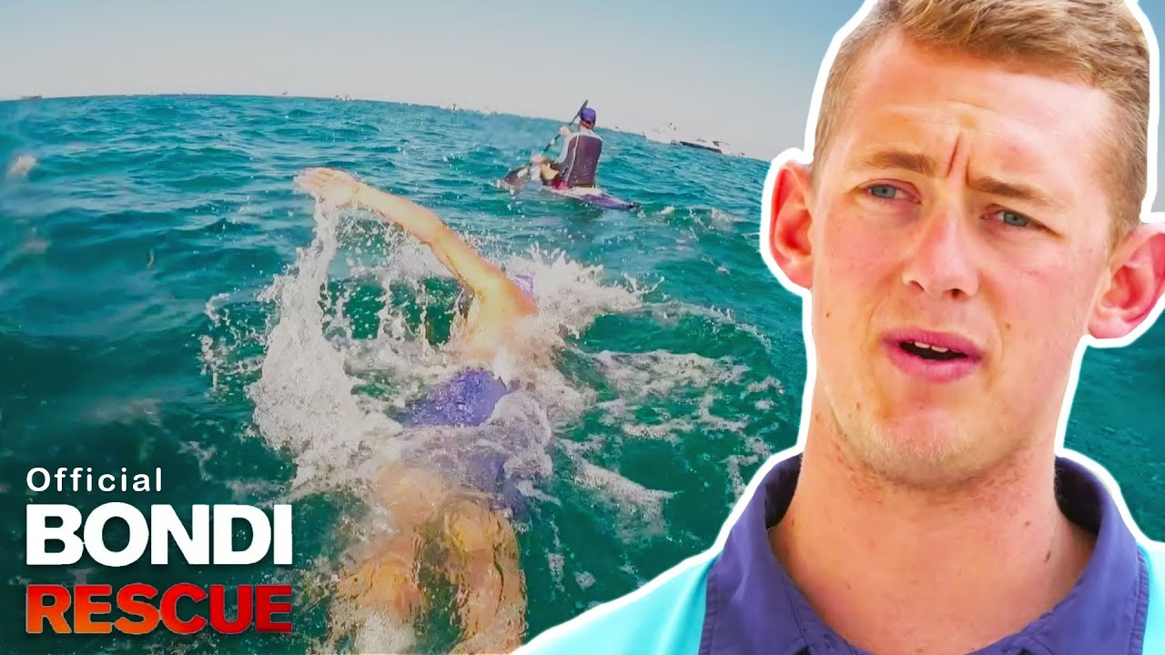 Bondi S Lifeguards Compete For Gold In 6 Hour Ocean Swim Youtube