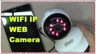 WIFI IP WEB Camera HD Mini CCTV Камера обзор и тест