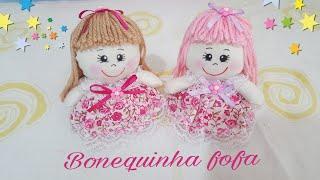 Aprenda a fazer uma linda bonequinha sem máquina feita a mão