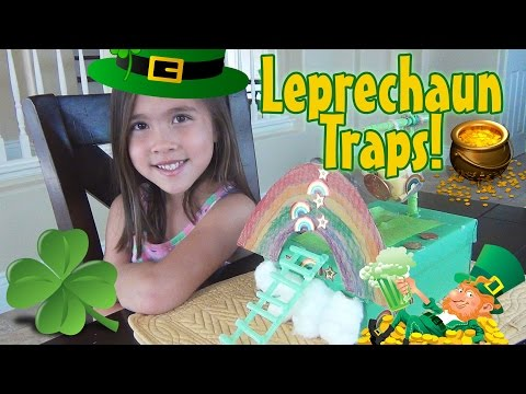 LEPRECHAUN TRAPS 2015!  Happy St. Patrick's Day!