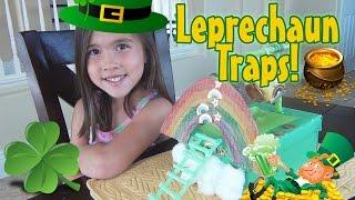 LEPRECHAUN TRAPS 2015!  Happy St. Patrick