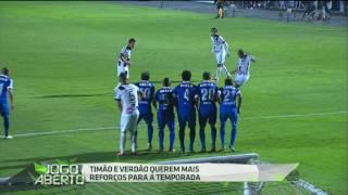 Palmeiras e Corinthians buscam reforços no mercado da bola