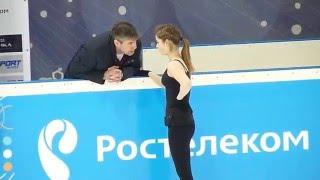 Юлия Липницкая, ПП на тренировке (ФКР 2016)