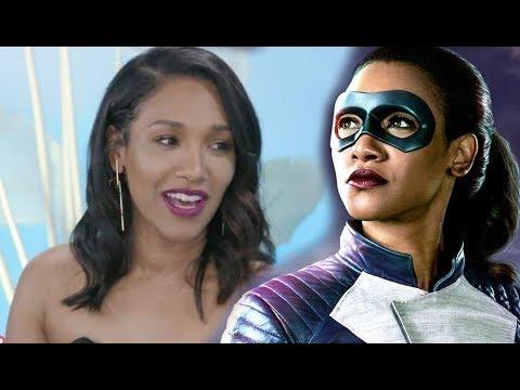 The Flash' Star Candice Patton Spills Behindthes Secrets From Run Iris Run! Exclusive