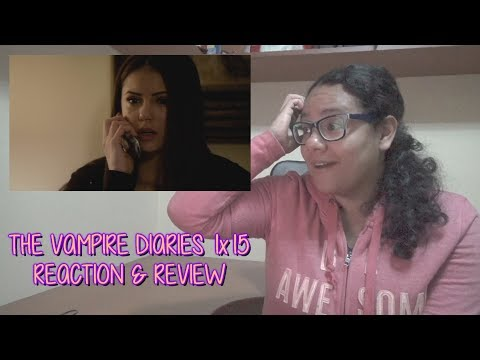 "The Vampire Diaries 1x15 REACTION & REVIEW ""A Few Good Men"" S01E15 | JuliDG"