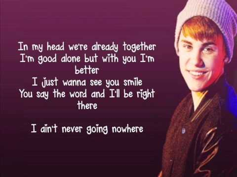 Justin Bieber - Catching Feelings (Lyrics)