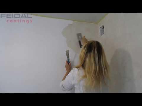 Декоративная отделка стен кухни, материалом Lava FEIDAL.
