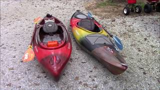 Kayak Overview - Perception Sound and Axis Dagger