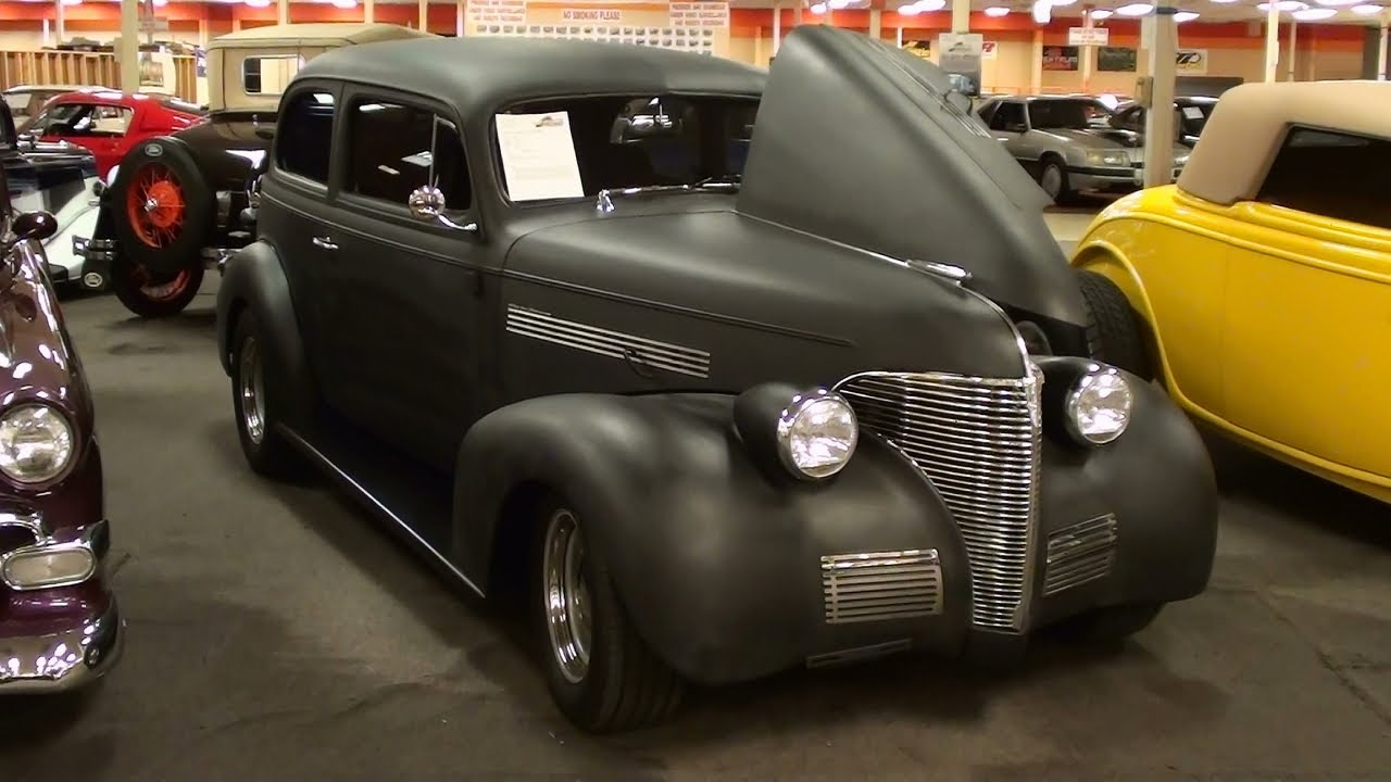 1939 chevrolet master deluxe hot rod - youtube
