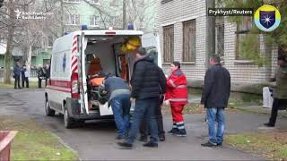 Deadly Grenade Blasts Rock Ukrainian Court