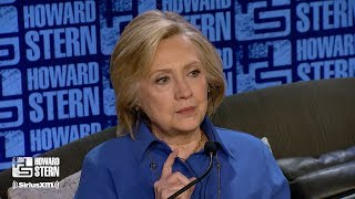 Hillary Clinton on the Howard Stern Show Pt. 4