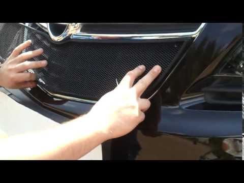 Установка защитной сетки радиатора на Opel Mokka 2012  black