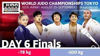 World Judo Championships 2019: Day 6 - Final Block