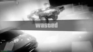 Grand Theft Auto V got shot in my garage