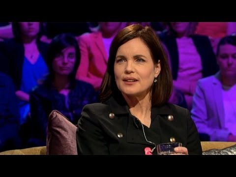 Elizabeth McGovern on being Cora in Downton Abbey  Saturday Night with Miriam