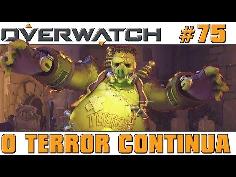 Overwatch #75 - O Terror Continua (com Patriota e Hidden) [60 FPS]