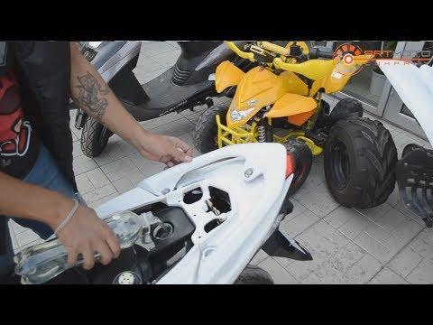 Сколько проедет скутер на 1 литре бензина ?  !