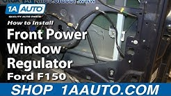 How To Replace Front Power Window Regulator 04-08 Ford F150