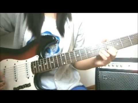 Stereopony  Tsukiakari no Michishirube 【 ツキアカリのミチシルベ 】 Guitar