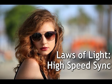 Laws of Light: High Speed Sync Photography