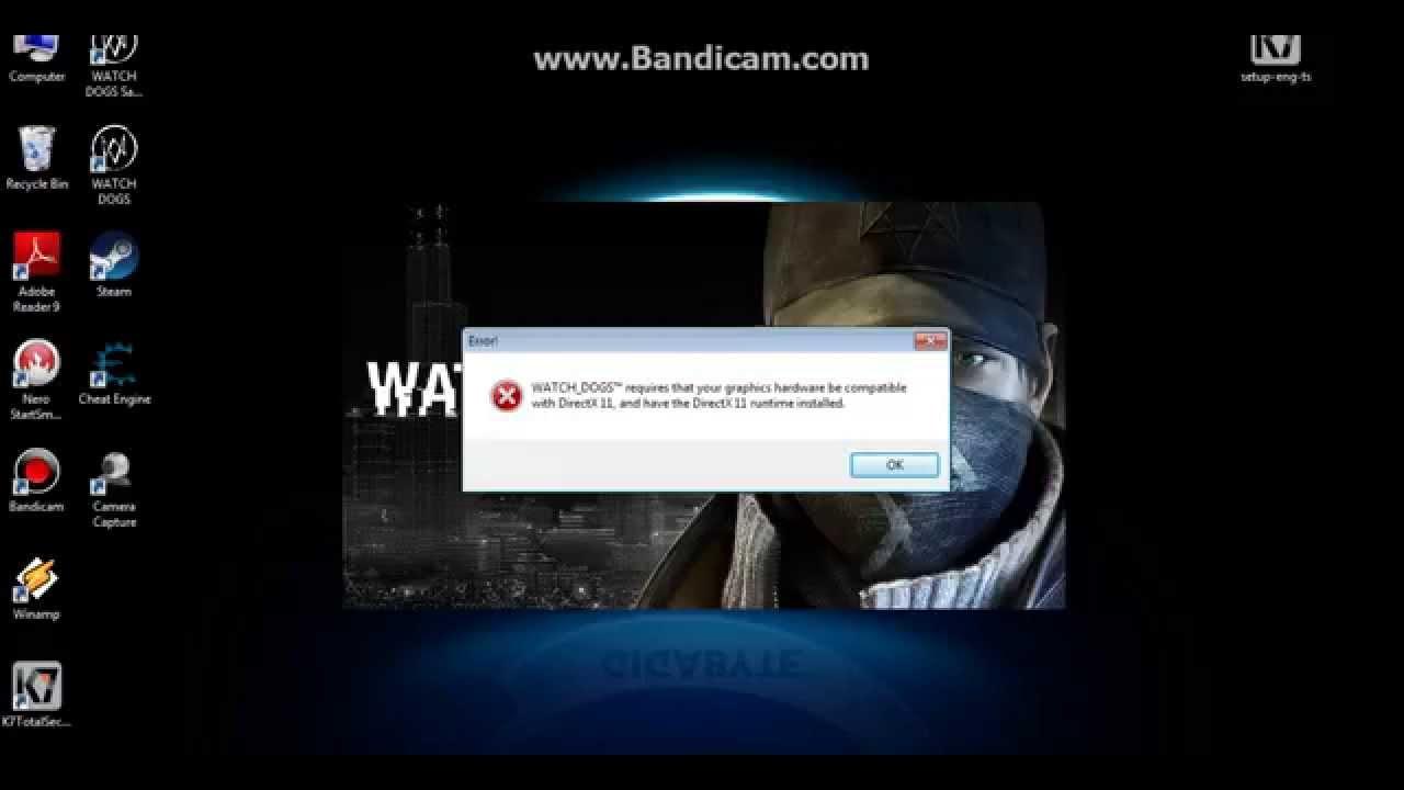 Directx 11 error fix