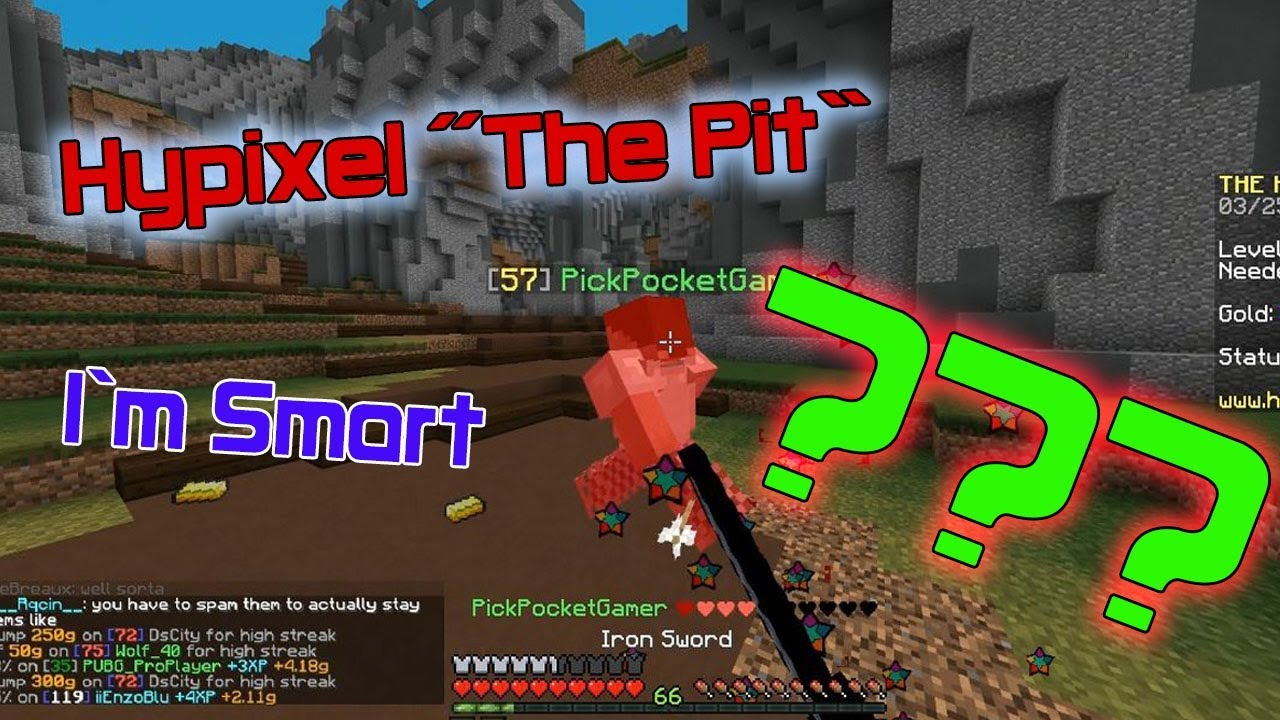 HOW DOES THIS GAME WORK??? (The Hypixel Pit)