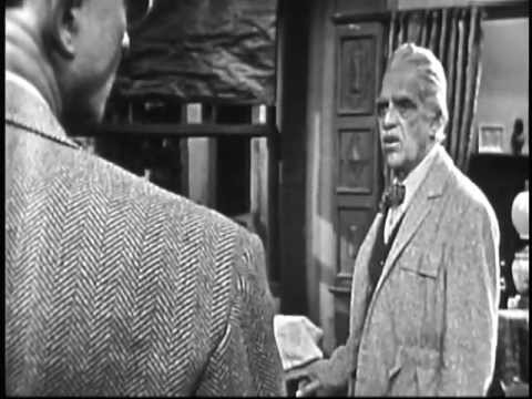THE ELGIN HOUR.  Sting of Death w/ Boris Karloff.  1955 TV Kinescope