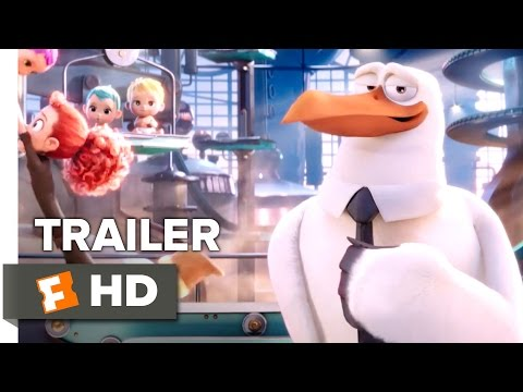 Storks Official Teaser Trailer #1 (2016) - Kelsey Grammer Animated Movie HD