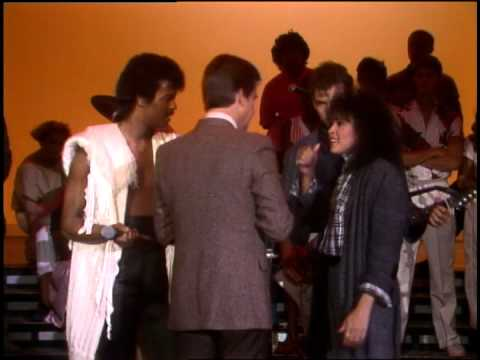 Dick Clark Interviews Champaign- American Bandstand 1984