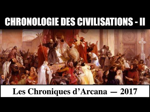 Chronologie des Civilisations ( partie 2 ) - Les Chroniques d'Arcana #10
