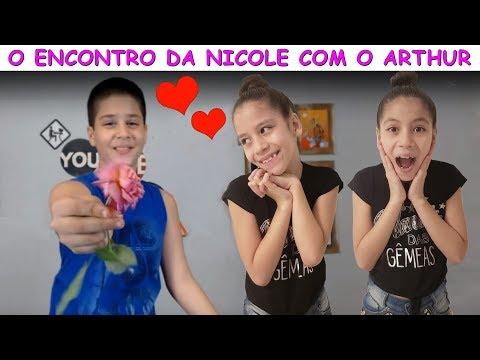 O ENCONTRO DA NICOLE COM O ARTHUR HB