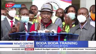 Boda boda training to be undertaken by NYS at sh750 per person