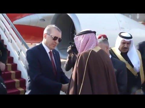 Cumhurbaşkanı Erdoğan - Suudi Arabistan Al Yamamah Sarayı'nda